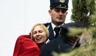 Protest aktywistek Femenu w Watykanie