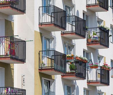 Włamania były nawet do mieszkań na ósmym piętrze