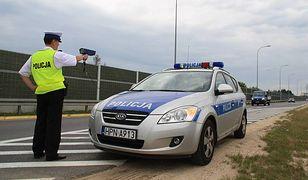 policja,radar,kontrola drogowa