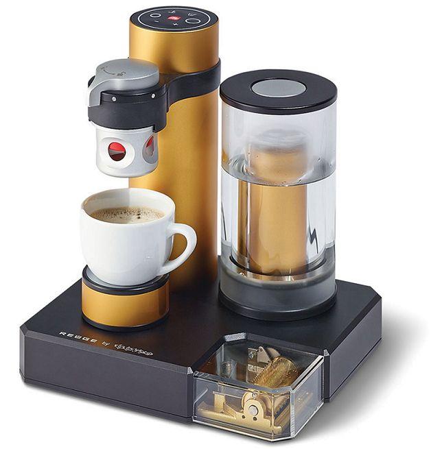 Wyjątkowy ekspres do kawy z pozytywką