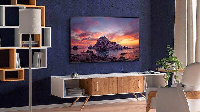 Samsung Q60T to najprzystępniejszy cenowo z modeli 4K QLED na 2020 rok, fot. Samsung