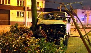 Strzelanina i pościg w Nadarzynie. Kierowca nie żyje, czterech policjantów w szpitalu
