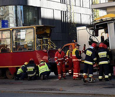Kolejne zderzenie tramwajów. Dwie osoby ranne