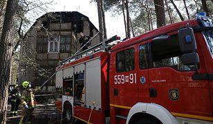 Otwock. Kolejny świdermajer w ogniu. 12 mieszkańców ewakuowanych