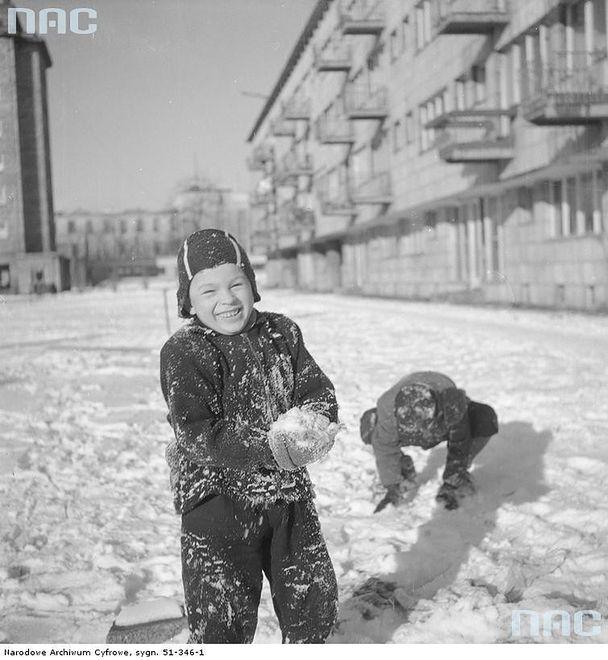 Zima w Warszawie (1931-1979)