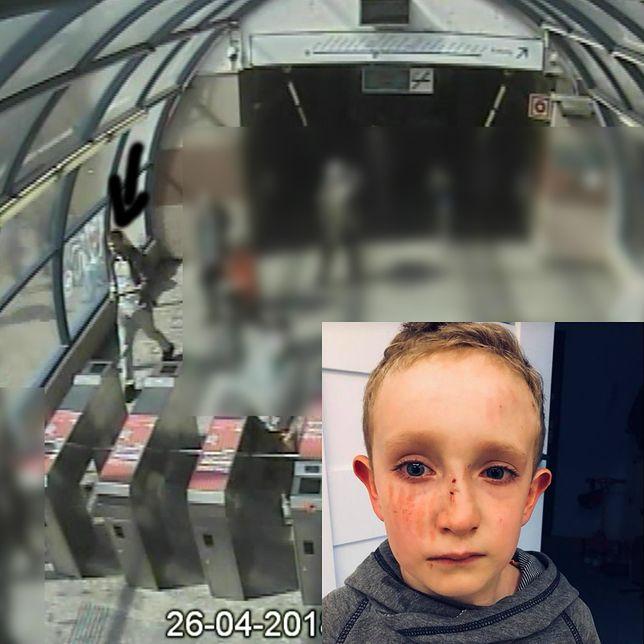 Popchnął 7-latka na ruchomych schodach. Policja publikuje wizerunek i prosi o pomoc