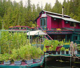 Marzyli o domu na wodzie. Zbudowali prawdziwy raj