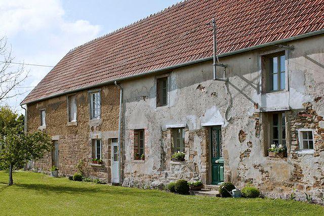 Sielski, wiejski dom w Normandii