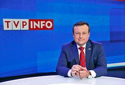 Dziennikarz TVP Info trafił do szpitala. Uspokoił widzów