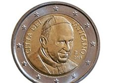 Wizerunek papieża zniknie z watykańskiego euro. W zamian herb Franciszka