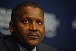 Najbogatszy człowiek w Afryce zarobił 100 mln dolarów na kryzysie walutowym