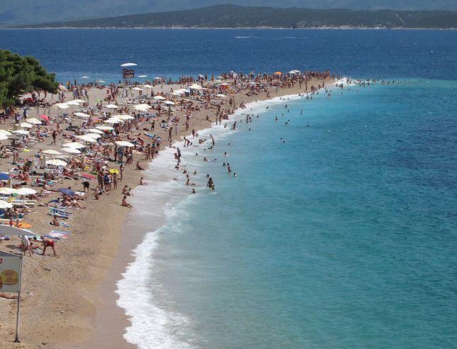 Plaża Zlatni Rat - jedna z najpiękniejszych w Chorwacji