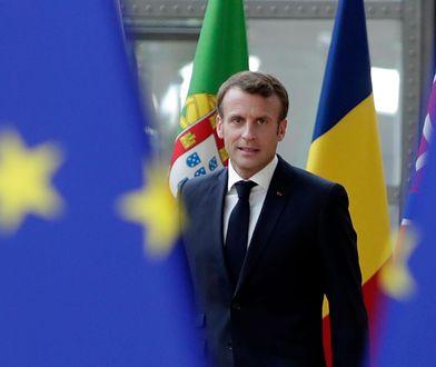 Emmanuel Macron był największym wygranym unijnego szczytu
