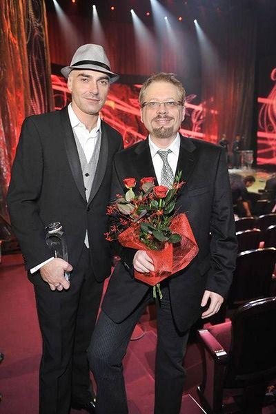 Tomasz Raczek i Marcin Szczygielski