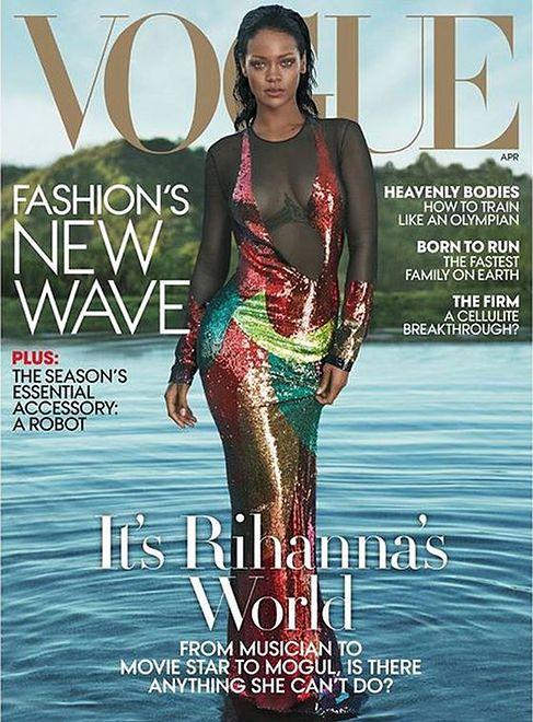 """Rihanna na okładce """"Vogue US"""""""