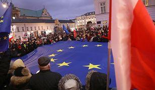 """""""Marsz Tysiąca Tóg"""". Protest sędziów w Warszawie"""