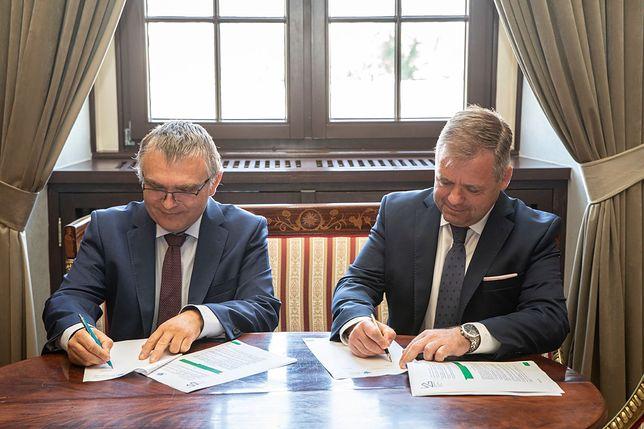 Wrocław. Łukasiewicz-Port i Uniwersytet Wrocławski wykształcą nowe pokolenie naukowców. Porozumienie podpisane