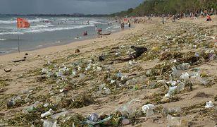 """""""Śmieciowy"""" problem na Bali powrócił. Tony plastiku na popularnych plażach"""