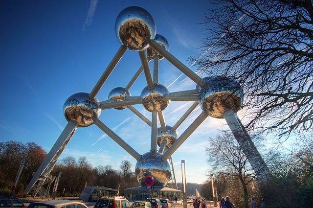 Atomium - Bruksela, Belgia