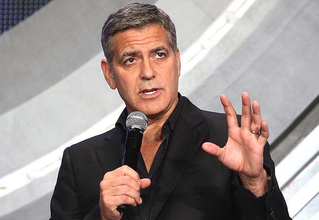 """George Clooney o rozwodzie Jolie-Pitt: """"Jestem w szoku"""""""