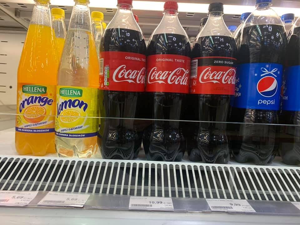 Podatki i opłaty. Rok 2021 stoi pod znakiem znacznych wzrostów, choćby jeżeli chodzi o napoje słodkie.