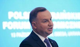 """Nauka zdalna. Andrzej Duda chce szybkiego powrotu do """"normalności"""""""