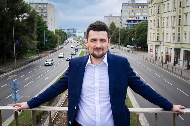 Wrocław. Piotr Uhle, radny Nowoczesnej, jest podejrzany o posiadanie marihuany