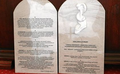 Ponad 3 tysiące podpisów pod deklaracją wiary lekarzy