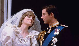 Księżna Diana i książę Karol w dniu swojego ślubu