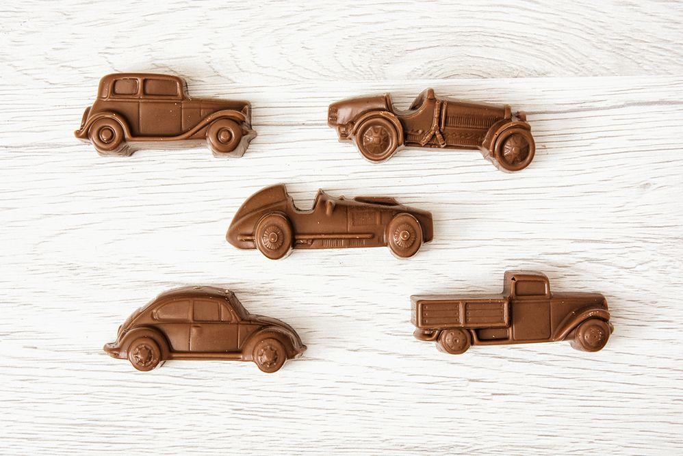 Nietypowe formy czekolady. Prezent na Dzień Ojca
