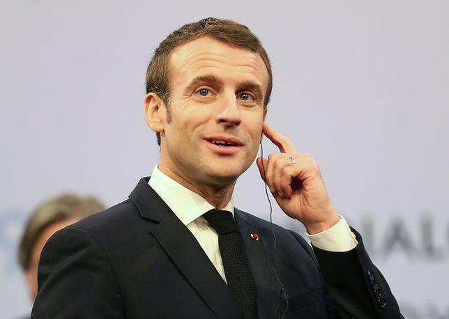 Emmanuel Macron miał odwiedzić Polskę w kwietniu, ale nie wiadomo, czy wizyta dojdzie do skutku