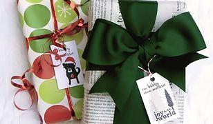 Pakowanie prezentów to sztuka! Fantazyjne opakowania z recyklingu