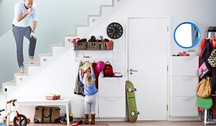 5 sposobów na czyste ściany w przedpokoju