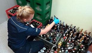 Alkohol przejęty przez policję