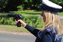 Policjant demaskuje niepoprawne pomiary radaru Iskra