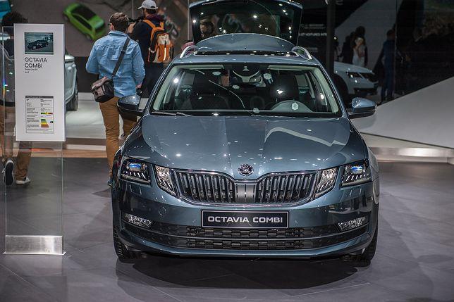 Škoda Octavia po liftingu w Genewie