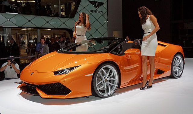 Lamborghini Huracan Spyder: otwarta drogowa wyścigówka