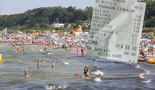 Ceny nad morzem są niższe niż w zeszłym roku - przekonuje czytelniczka. Pokazuje, ile zapłaciła