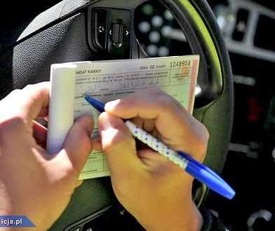 Kierowca pędzący prawie 300 km/h został ukarany mandatem w wysokości 5 tys. zł