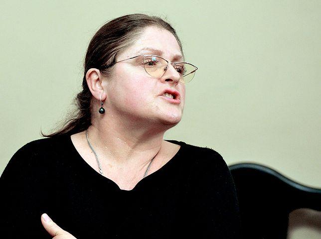 """Krystyna Pawłowicz chce pomocy Żydów. """"Nie ma co marnować czasu"""""""