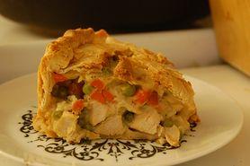 Mrożona tarta z kurczakiem (przygotowana)