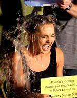 Małgorzata Socha wzięła udział w ALS Ice Bucket Challenge
