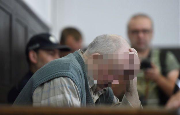 Oskarżony Lech G. na sali Sądu Okręgowego w Łodzi