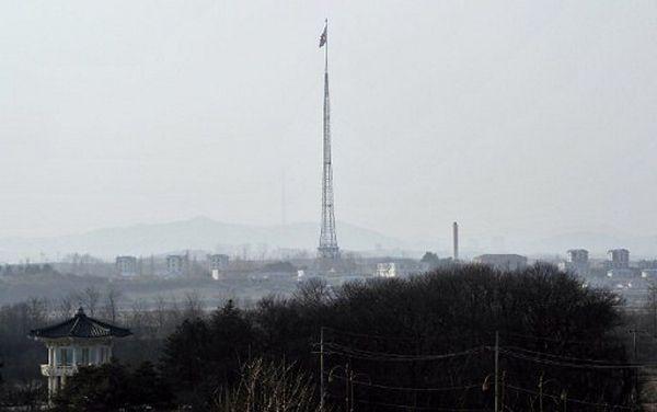 Granicą między Koreą Północną a Południową