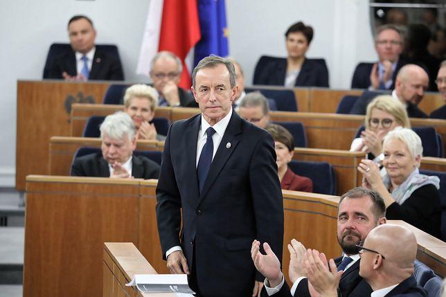 Nowo wybrany marszałek Senatu Tomasz Grodzki: czasami jakiś mecz przegramy, chodzi o to, by wygrać mistrzostwa