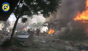 Ataki lotnictwa na targowisko w Syrii. 17 cywilów nie żyje