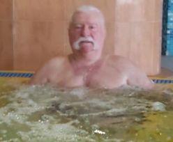 """Wałęsa wypoczywa w """"Gołębiewskim"""". Na zdjęciach w oczy rzuca się coś innego"""