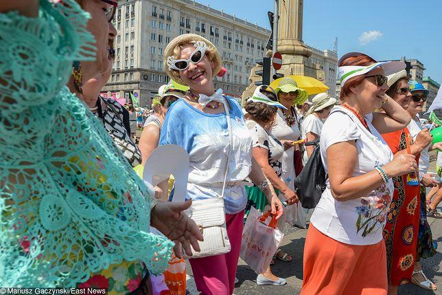 Dwa lata temu Ogólnopolska Parada Seniorów wyruszyła z Placu Konstytucji