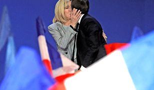 Francuska para prezydencka jest znana z okazywania sobie czułości.