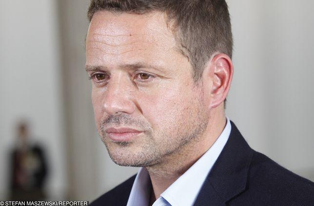 Rafał Trzaskowski jest kandydatem PO i Nowoczesnej na prezydenta Warszawy